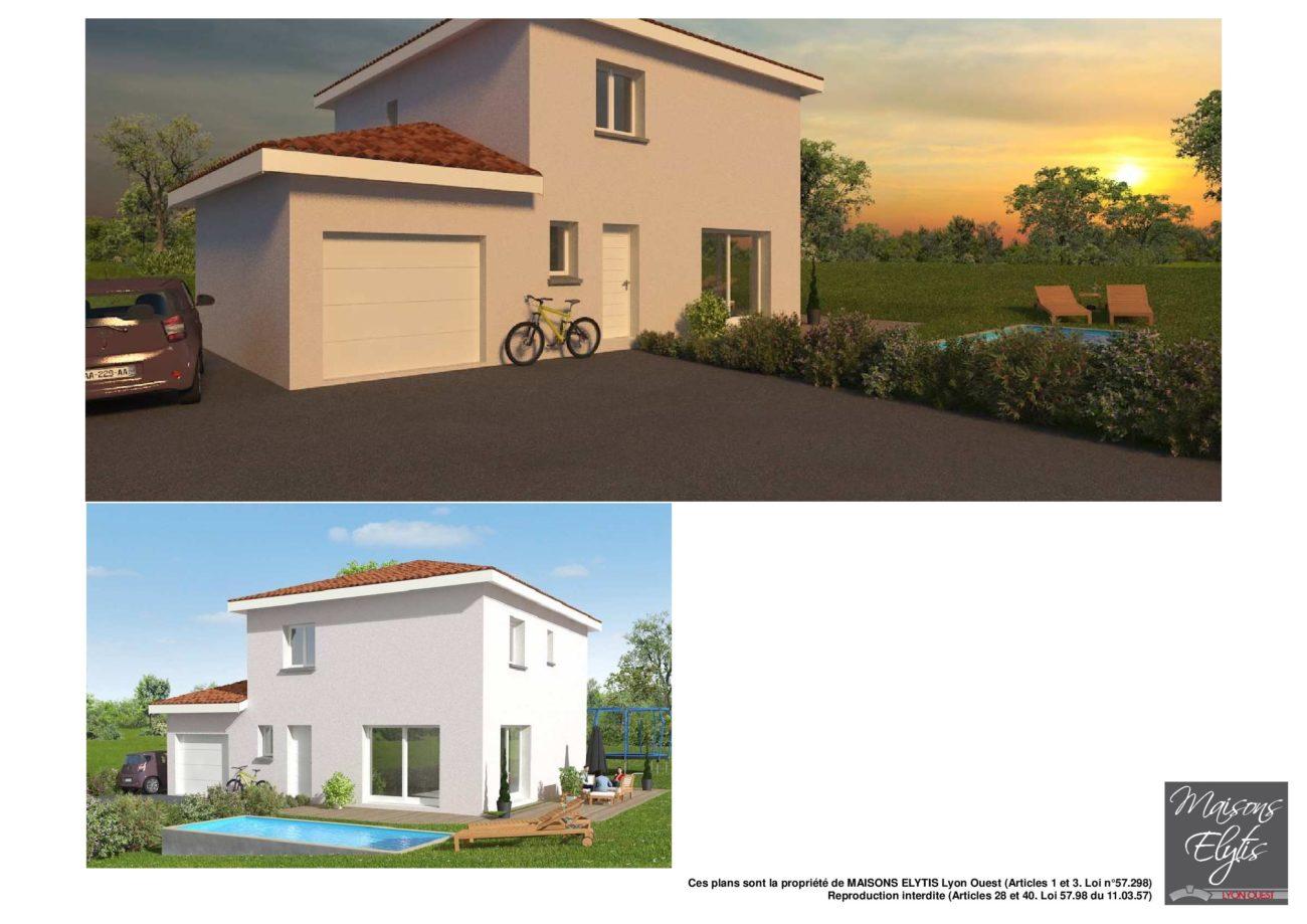 Miserieux lot c 107 m2 maisons elytis lyon ouest - Maison elytis ...