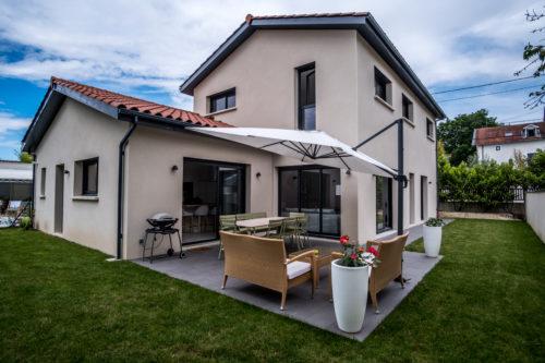 Maison traditionnelle de 148,18 m2 banlieue ouest de Lyon