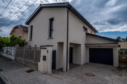 Construction d'une Maison traditionnelle de 148,18 m2 banlieue ouest de Lyon