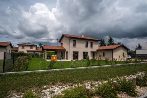 Villa contemporaine 150 m2 surface plancher