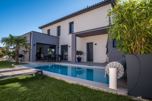 Ouest lyonnais villa contemporaine 137 m2