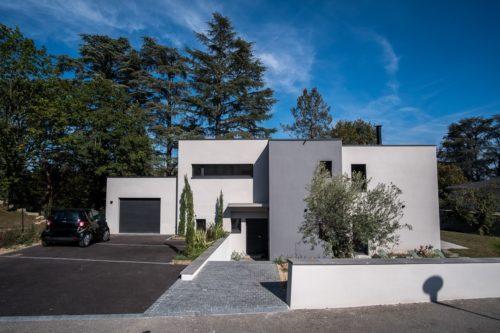 Maison contemporaine ouest lyonnais