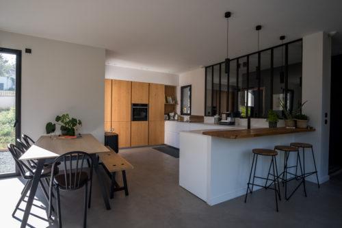 Construction d'une Maison contemporaine ouest lyonnais