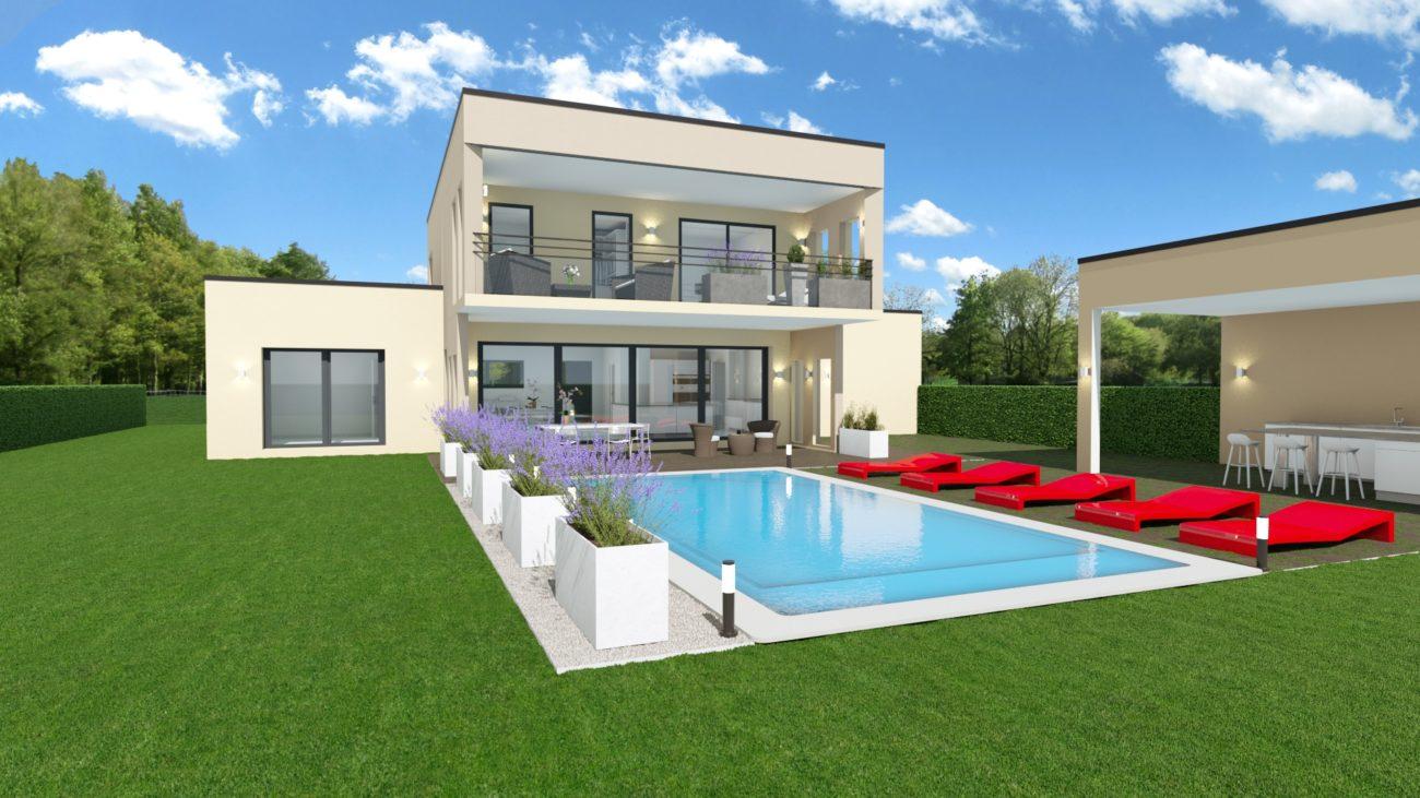 projet d 39 exception st cyr au mt d 39 or 200 m2 maisons elytis lyon ouest constructeur de. Black Bedroom Furniture Sets. Home Design Ideas