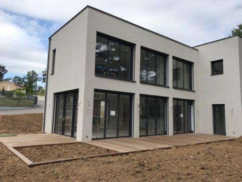 Maison contemporaine Ouest Lyon