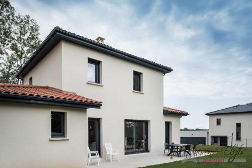 Construction d'une Maison Passive à  l'Ouest de Lyon