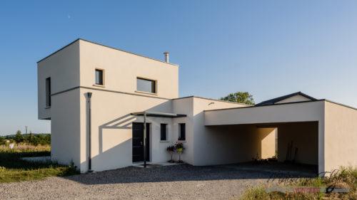 Maison Contemporaine à l'Ouest de Lyon